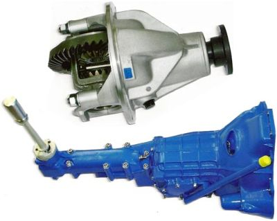 BMC 'A' Series Axles - BMC Gearboxes